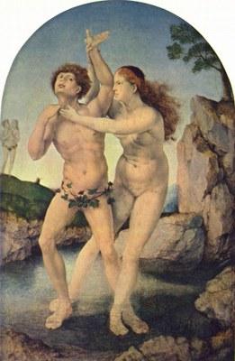 Jan Gossaert, Salmacis und Hermaphroditus, ca. 1514–1520